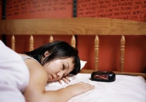 Follow a Regular Sleep Routine as tips to help sleep