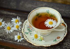Sip on Green or Herbal Tea as sleep hygiene guidelines