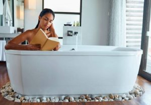 Instead of Mother's Day treats to make, treat her to a bath escape