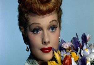 Lucille Ball is among the celebrities who live on as ghosts