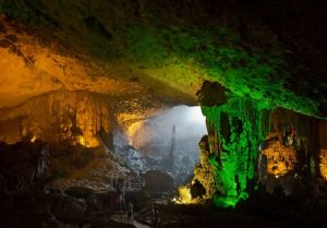 Explore this cave and experience as if you are on another planet
