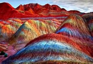 These mountains are amongst the weirdest places on earth