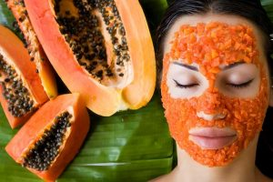 DIY spa skin brightening at home