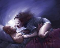 What's happening to the body during sleep paralysis?